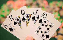 Card Hand Fallsview Niagara Casino.