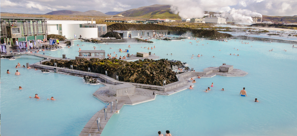 Volcanic Lagoons in Iceland